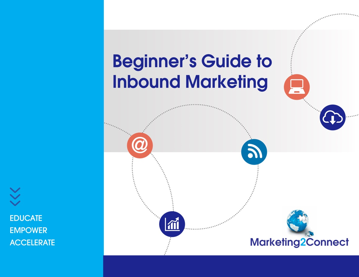 Cover to Beginner's Guide to Inbound Marketing